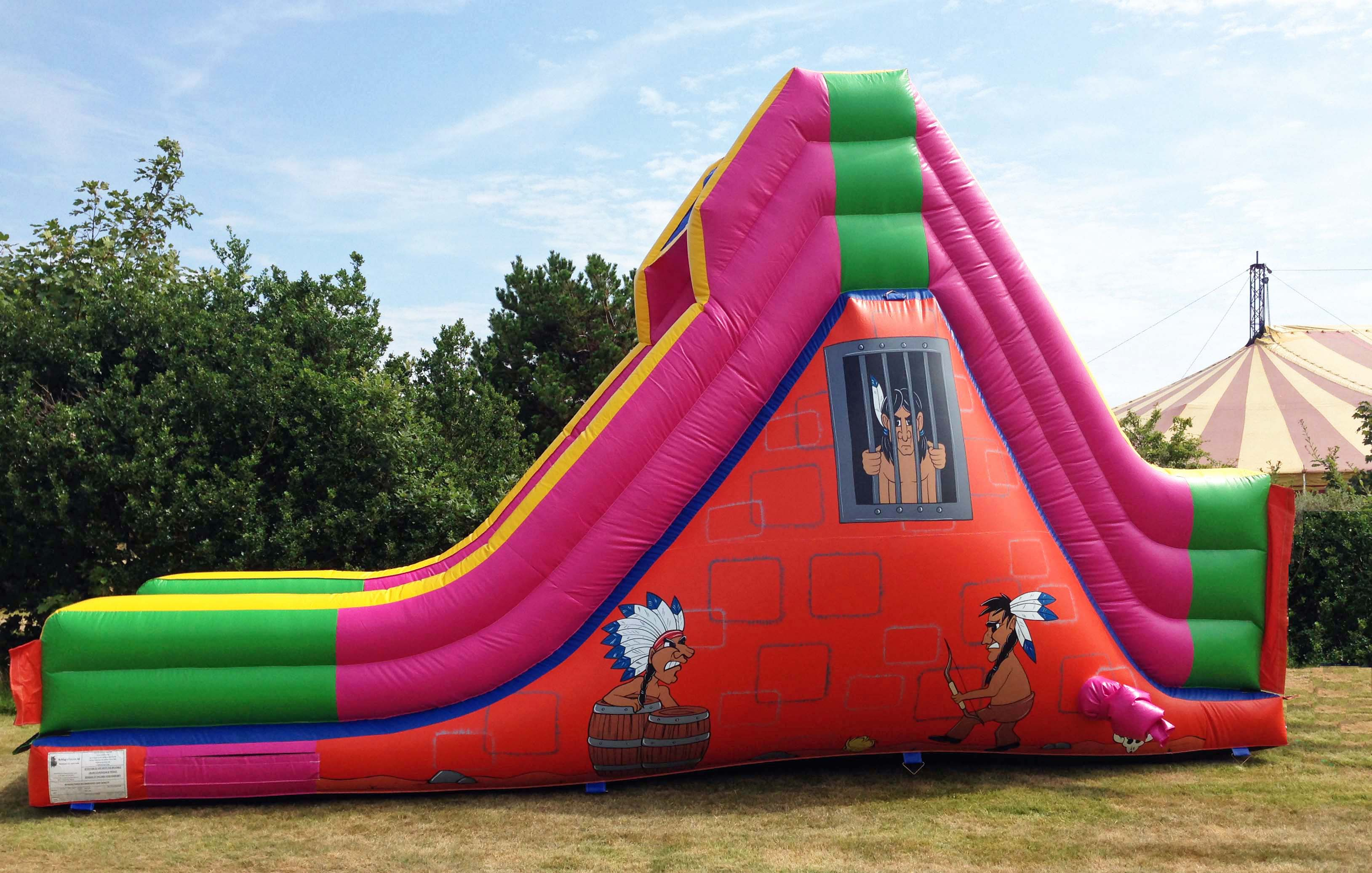 Apache Inflatable Slide