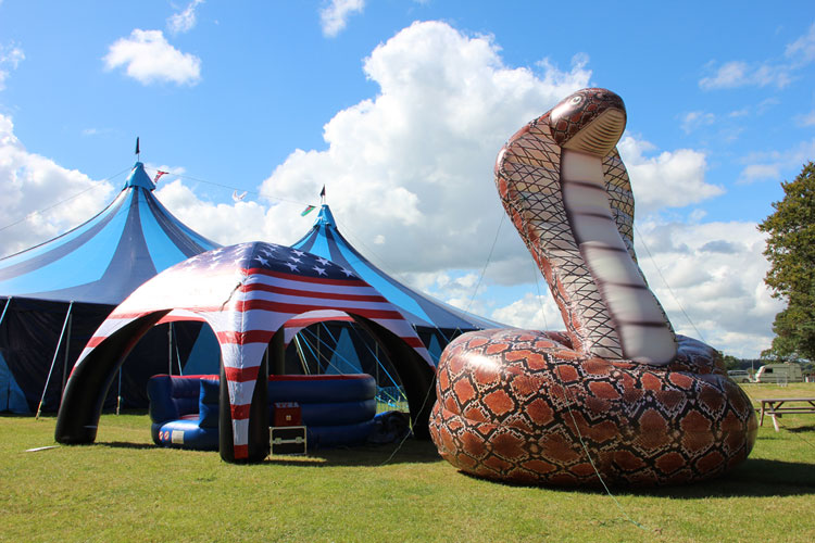 Giant Inflatable Snake