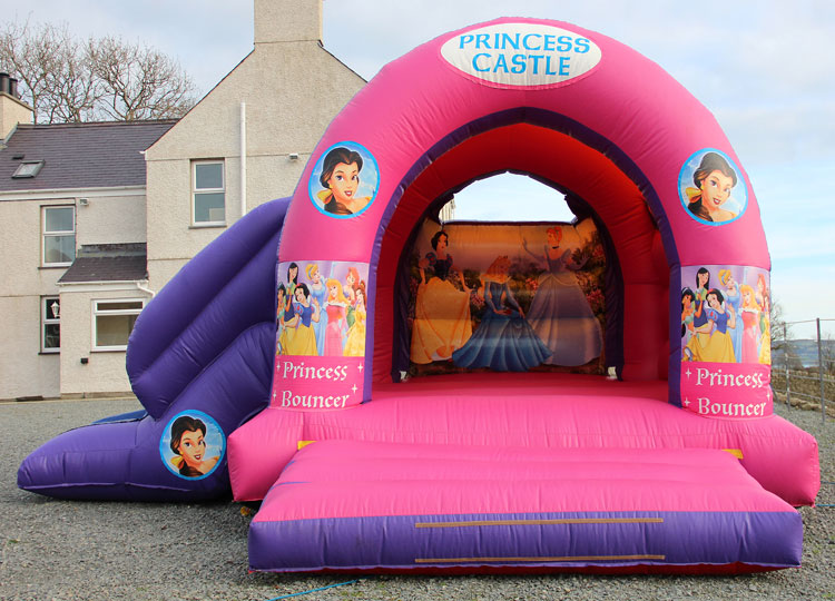 Little Princess Bouncy Castle with Slide