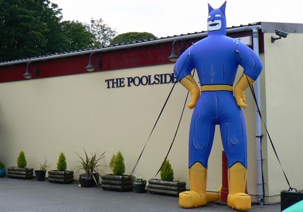 Inflatable Batman