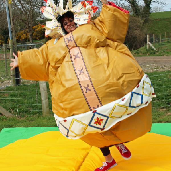 Indian Sumo Suit