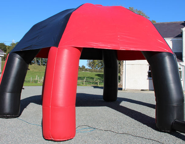 Black & Red Inflatable Event Tent