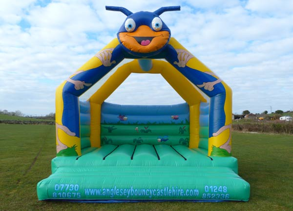Teh Bug's Head Bouncy Castle