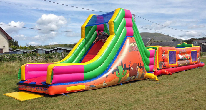 Bull Run Inflatable Obstacle Course