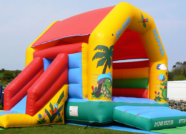 The Island Hopper Bouncy Castle