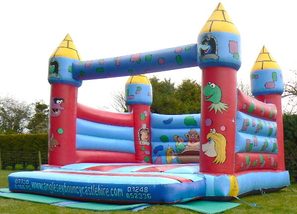 The Muppets Bouncy Castle