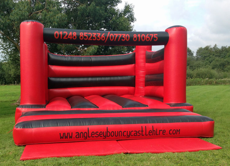Black and Red Inflatable PAckage