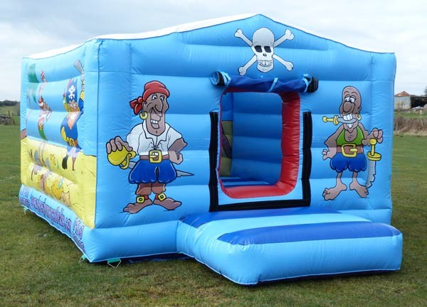Pirates of the Menai Bouncy Castle