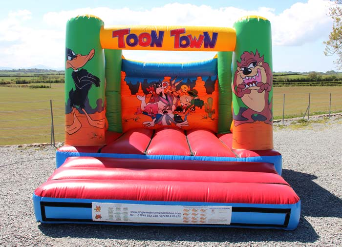 Toon Town Bouncy Castle