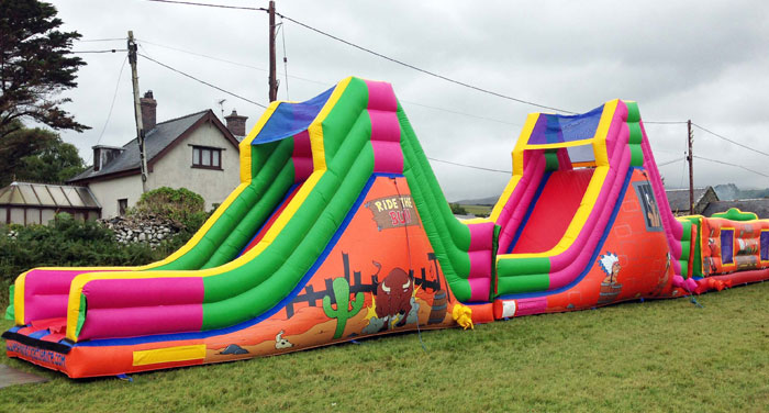 Inflatable Assault Courses North West