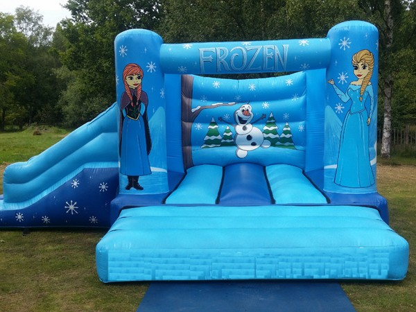 Frozen Castle, Anglesey Bouncy Castle Hire