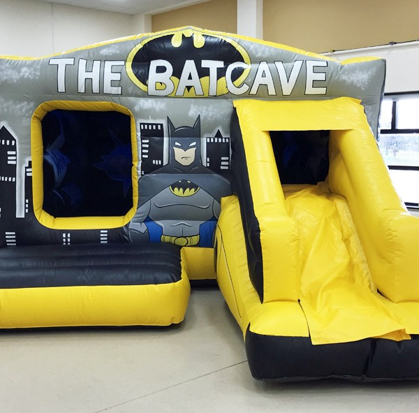 Batman bouncy castle, Anglesey Bouncy Castle Hire, The bat box.