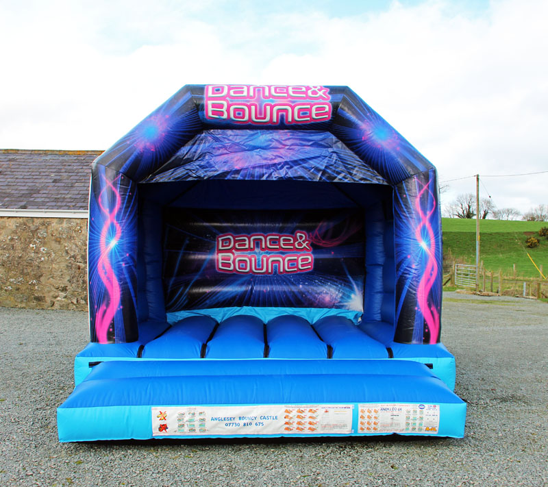 Disco Dome, anglesey bouncy castle hire