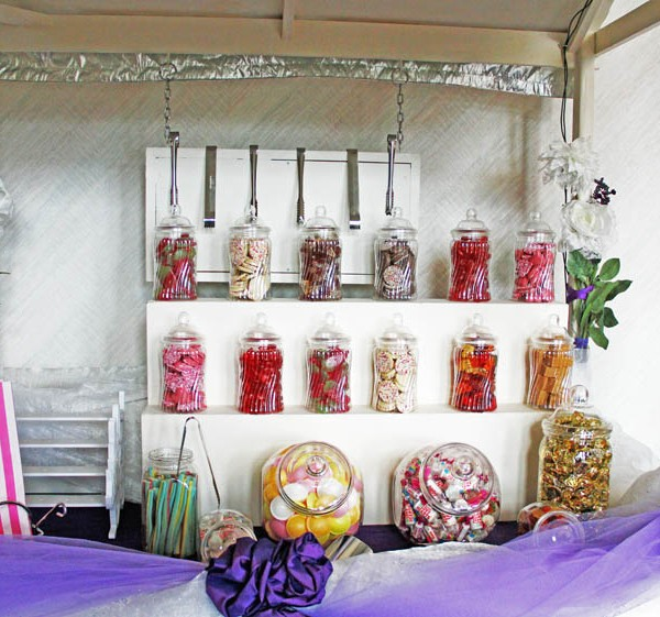 Anglesey Candy Cart