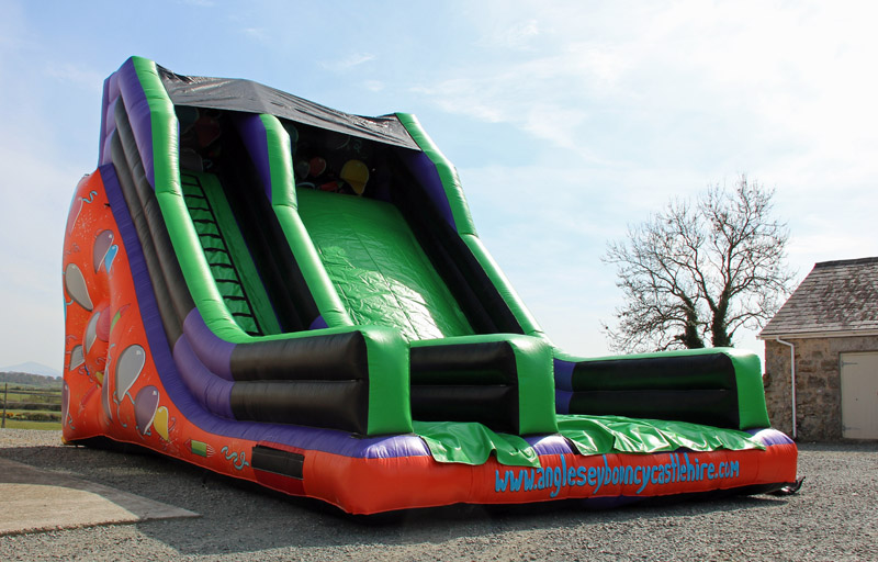 Celebration Slide, Anglesey Bouncy Castle Hire