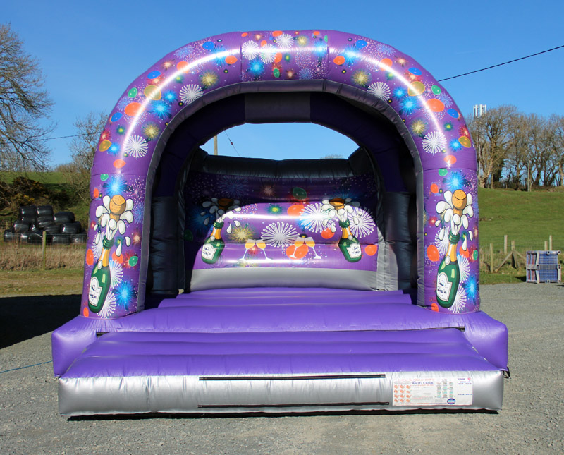 anglesey bouncy castles, anglesey bouncy castle hire, sean mcnicol