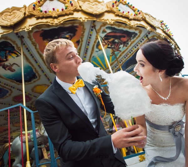 Anglesey Bouncy Castle Hire wedding Candy floss