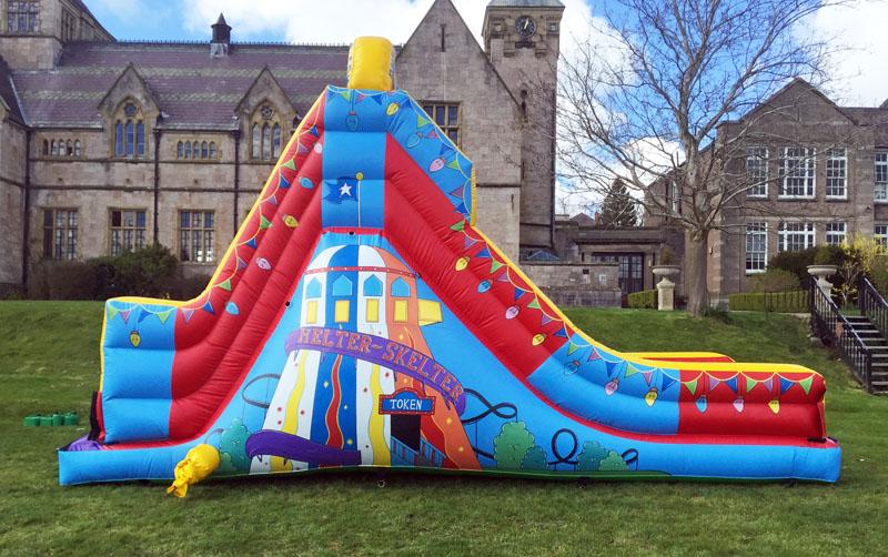 Helter Skelter Slide, Helter Skelter, Anglesey Bouncy Castle Hire