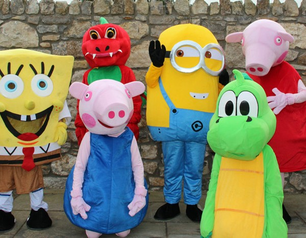 Mascot hire Anglesey