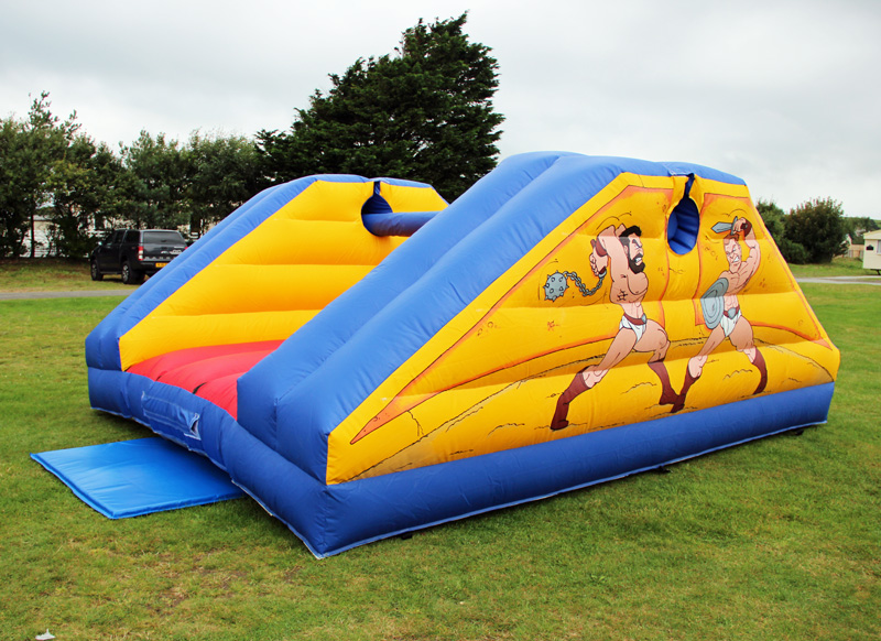 Pillow bash, bouncy castle hire anglesey