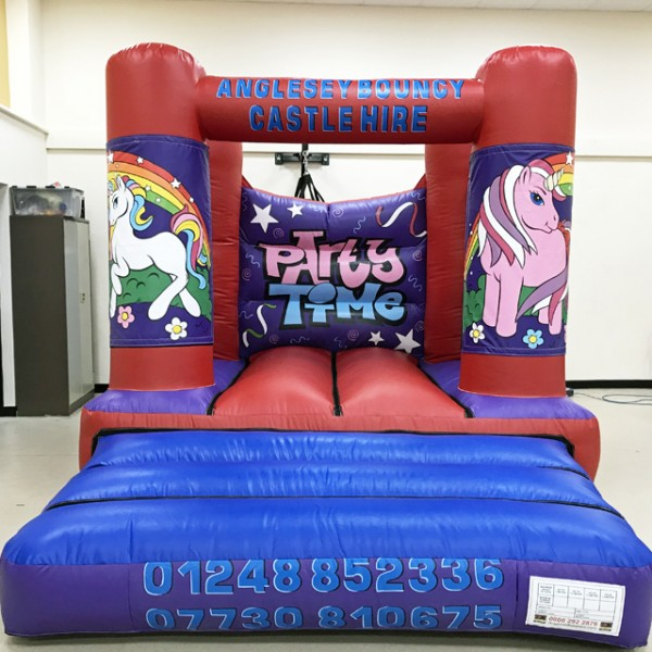 Unicorn Anglesey, Anglesy bouncy castle hire