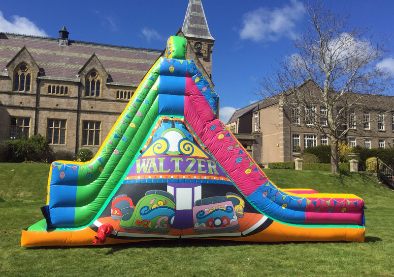 Waltzer, Waltzer slide, Anglesey Bouncy Castle Hire.